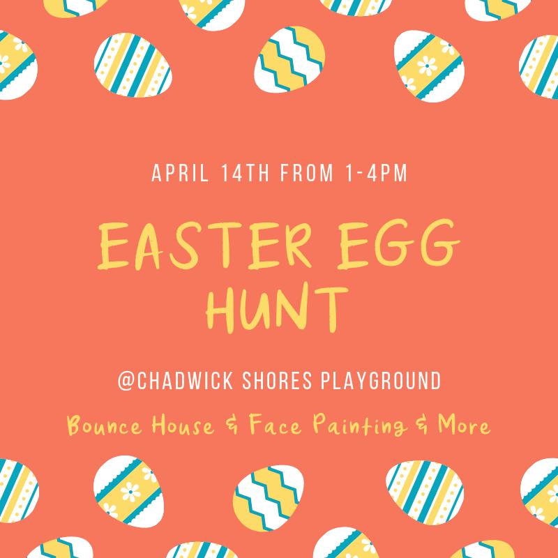 chadwick shores easter egg hunt